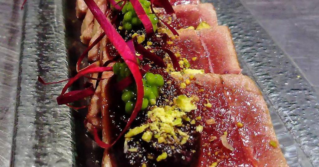el guano restaurante tataki atún rojo
